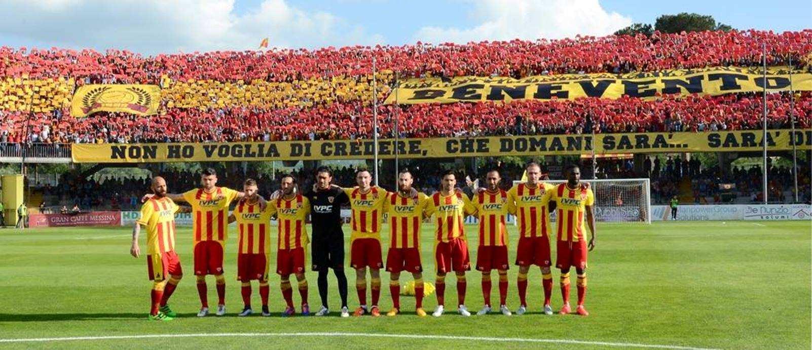 Benevento, ciao Lega Pro. Finalmente Serie B: promozione storica