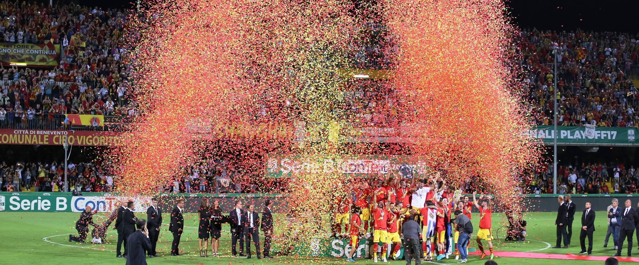 Serie B, finale play-off: BENEVENTO IN SERIE A
