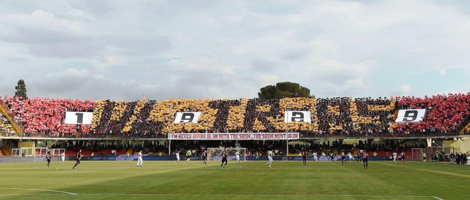 Il Benevento saluta la serie A